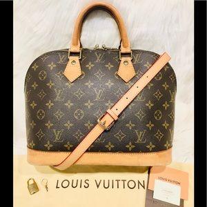 Authentic Louis Vuitton Alma Tote PM #2.5Q